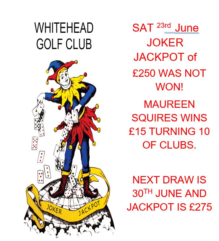 23rd June Joker Jackpot